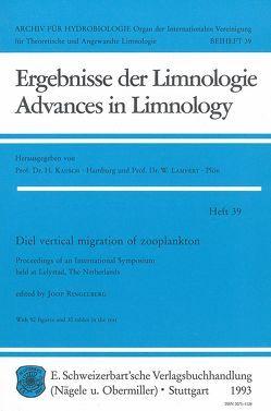 Diel vertical migration of zooplancton von Ringelberg,  Joop
