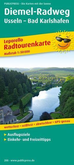 Diemel-Radweg, Usseln – Bad Karlshafen
