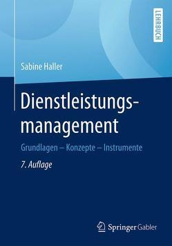 Dienstleistungsmanagement von Haller,  Sabine