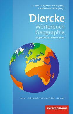 Diercke Wörterbuch Geographie / Diercke Wörterbuch Geographie – Ausgabe 2017