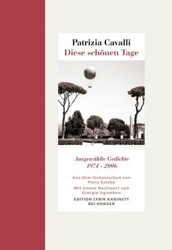 Diese schönen Tage von Agamben,  Giorgio, Cavalli,  Patrizia, Salabè,  Piero