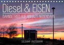 Diesel & Eisen – Bahnbetrieb auf Anhalts Nebenbahn (Tischkalender 2019 DIN A5 quer) von Elskamp-D.Elskamp Photography,  Danny