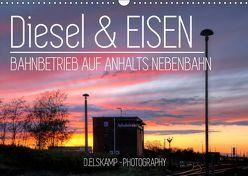 Diesel & Eisen – Bahnbetrieb auf Anhalts Nebenbahn (Wandkalender 2019 DIN A3 quer) von Elskamp-D.Elskamp Photography,  Danny