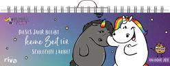 Dieses Jahr bleibt keine Zeit für schlechte Laune – Pummeleinhorn-Tischkalender 2021 von Pummel & Friends