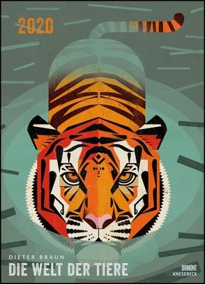 Dieter Braun: Die Welt der Tiere 2020 – Wandkalender – Poster-Format 49,5 x 68,5 cm von Braun,  Dieter, DUMONT Kalenderverlag