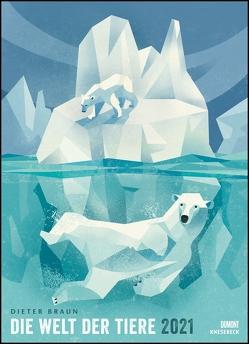 Dieter Braun: Die Welt der Tiere 2021 – Wandkalender – Poster-Format 49,5 x 68,5 cm von Braun,  Dieter