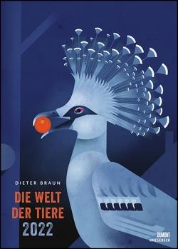Dieter Braun: Die Welt der Tiere 2022 – Wandkalender – Poster-Format 50 x 70 cm von Braun,  Dieter