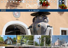 Dietfurt a. d. Altmühl (Tischkalender 2020 DIN A5 quer) von Portenhauser,  Ralph