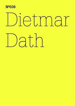 Dietmar Dath von Dath,  Dietmar