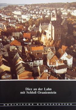 Diez an der Lahn mit Schloss Oranienstein von Custodis,  Paul G, Storto,  Fred