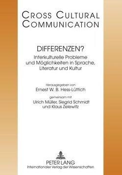 Differenzen? von Hess-Lüttich,  E.W.B., Mueller,  Ulrich, Schmidt,  Siegrid, Zelewitz,  Klaus