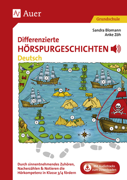 Differenzierte Hörspurgeschichten Deutsch von Blomann,  Sandra, Zöh,  Anke