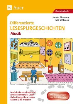 Differenzierte Lesespurgeschichten Musik von Blomann,  Sandra, Schlimok,  Julia
