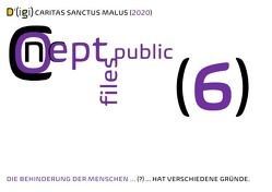 D'(igi) / D'(igi) CARITAS SANCTUS MALUS (2020) EINE SELBSTANALYSE VOM NORMALEN ZUM GESUNDEN, DEMOKRATISCHEN SELBSTBEFINDEN von Public Files,  Concept, Schast,  Christine, Shucker,  Beat