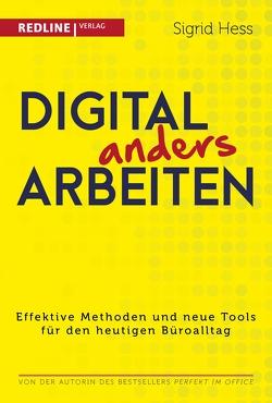 Digital anders arbeiten von Hess,  Sigrid