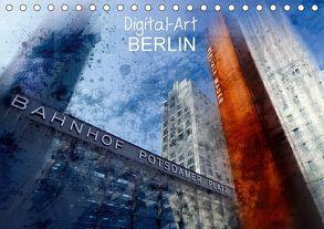 Digital-Art BERLIN (Tischkalender 2018 DIN A5 quer) von Viola,  Melanie