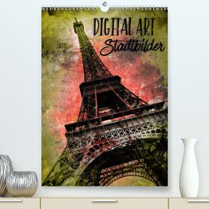 DIGITAL ART StadtbilderCH-Version (Premium, hochwertiger DIN A2 Wandkalender 2021, Kunstdruck in Hochglanz) von Viola,  Melanie