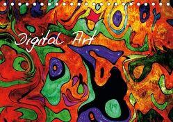 Digital Art (Tischkalender 2018 DIN A5 quer) von Siebenhühner,  Gabi