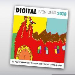 Digital Paintings 2018 von Wanninger,  Biggi