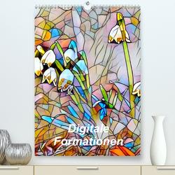 Digitale Formationen (Premium, hochwertiger DIN A2 Wandkalender 2020, Kunstdruck in Hochglanz) von Art-Motiva