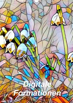 Digitale Formationen (Wandkalender 2020 DIN A3 hoch) von Art-Motiva