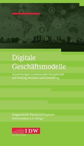 Digitale Geschäftsmodelle von Deggendorfer Forum zur digitalen Datenanalyse e.V.