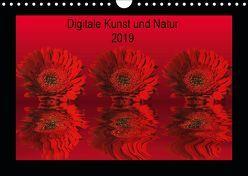 Digitale Kunst und Natur (Wandkalender 2019 DIN A4 quer) von Fornal,  Martina