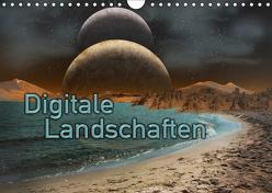 Digitale Landschaften (Wandkalender 2019 DIN A4 quer) von Kröger,  Martina