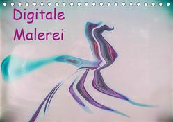 Digitale Malerei / Geburtstagskalender (Tischkalender 2019 DIN A5 quer) von Hampe,  Gabi