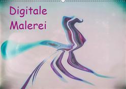 Digitale Malerei / Geburtstagskalender (Wandkalender 2019 DIN A2 quer) von Hampe,  Gabi