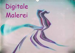 Digitale Malerei / Geburtstagskalender (Wandkalender 2019 DIN A3 quer) von Hampe,  Gabi