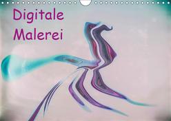 Digitale Malerei / Geburtstagskalender (Wandkalender 2019 DIN A4 quer) von Hampe,  Gabi