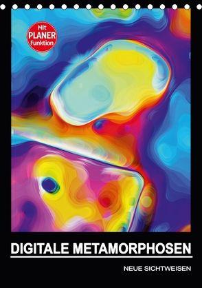 DIGITALE METAMORPHOSEN – NEUE SICHTWEISEN (Tischkalender 2018 DIN A5 hoch) von Borgulat,  Michael