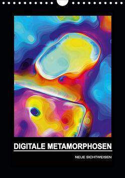 DIGITALE METAMORPHOSEN – NEUE SICHTWEISEN (Wandkalender 2020 DIN A4 hoch) von Borgulat,  Michael
