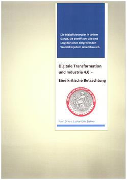 Digitale Transformation und Industrie 4.0 von Prof. Dr.h.c. Siebler,  Lothar