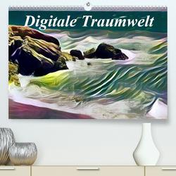 Digitale Traumwelt (Premium, hochwertiger DIN A2 Wandkalender 2020, Kunstdruck in Hochglanz) von Art-Motiva