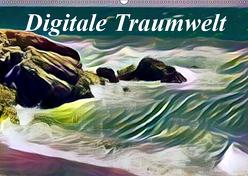 Digitale Traumwelt (Wandkalender 2019 DIN A2 quer) von Art-Motiva