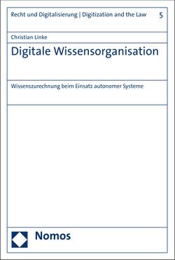 Digitale Wissensorganisation von Linke,  Christian