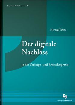Der digitale Nachlass von Herzog,  Stephanie, Pruns,  Matthias