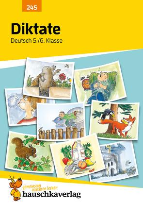 Diktate 5./6. Klasse von Thiele,  Rainer, Widmann,  Gerhard