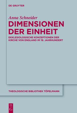Dimensionen der Einheit von Schneider,  Anna
