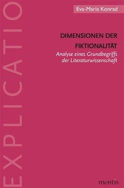 Dimensionen der Fiktionalität von Konrad,  Eva-Maria