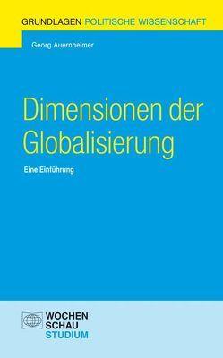 Dimensionen der Globalisierung von Auernheimer,  Georg