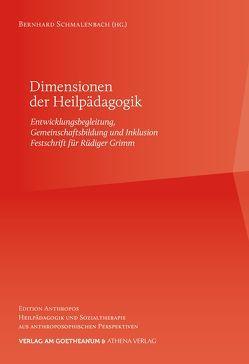 Dimensionen der Heilpädagogik von Schmalenbach,  Bernhard