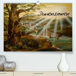 Dimensionen (Premium, hochwertiger DIN A2 Wandkalender 2021, Kunstdruck in Hochglanz) von Krakowski,  Conny