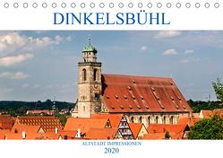 DINKELSBÜHL – ALTSTADT IMPRESSIONEN (Tischkalender 2020 DIN A5 quer) von boeTtchEr,  U