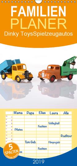 Dinky Toys Spielzeugautos – Familienplaner hoch (Wandkalender 2019 , 21 cm x 45 cm, hoch) von Indermuehle,  Tobias