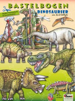 Dinosaurier Bastelbogen von Völtzke,  Kurt