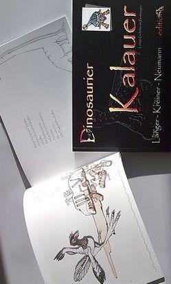 Dinosaurier-Kalauer von Ellmauthaler,  Volkmar, Kreiner,  Friedrich, Langer,  Birgit, Neumann,  Helmut