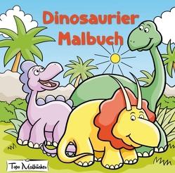 Dinosaurier Malbuch von Malbücher,  Topo